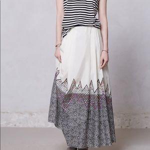 Anthropologie JEN KAO Tandikat Maxi Skirt $188